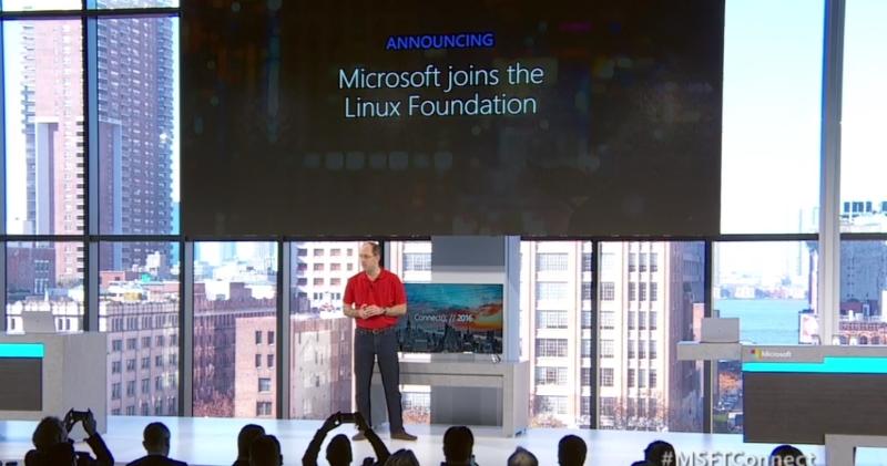将真爱贯彻到底,微软加入 Linux 基金会