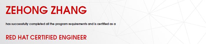 捷讯:张泽宏12月4日上海高分通过RHCE认证。
