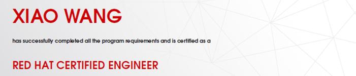 捷讯:王校12月13日澳大利亚顺利通过RHCE认证。