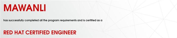 捷讯:马万里12月31日北京顺利通过RHCE认证。
