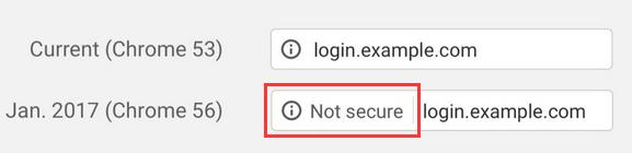 2017年起,未经HTTPS加密的网页将遭到Chrome的安全警告