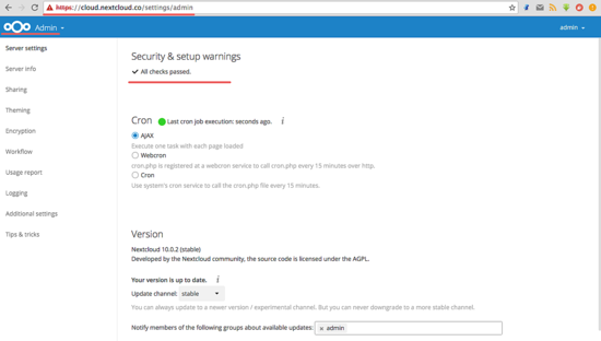 如何在 CentOS 7 中使用 Nginx 和 PHP7-FPM 安装 Nextcloud