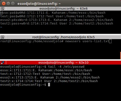 在 Linux 中无人看守批量创建用户的方法