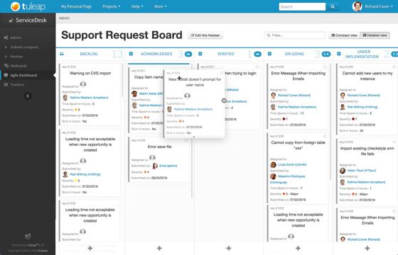 将 Tuleap 用于软件项目管理