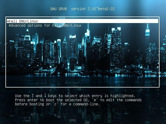在 Kali Linux 中更改 GRUB2 背景的 5 种方式
