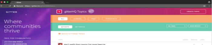 公共聊天软件Gitter已被GitLab收购