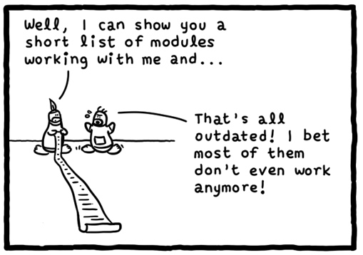 漫画赏析:80 端口之战