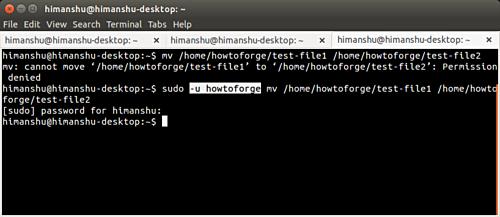 sudo命令:解决使用Linux命令行时出现的错误提示