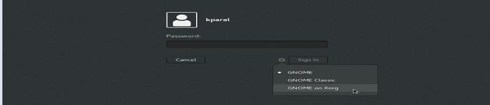 Linux 上 GDM 登录界面如何适应高分屏