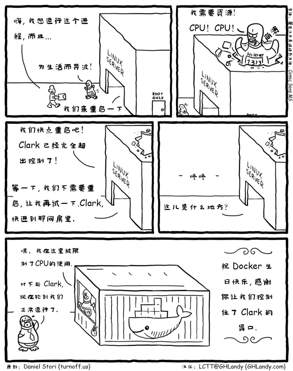 漫画赏析:Linux 版 SQL Server
