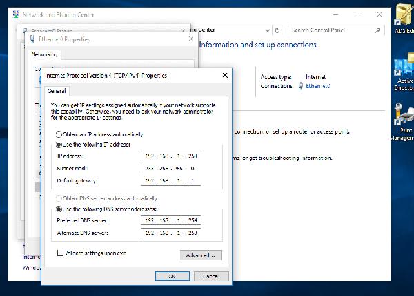 Ubuntu DC + Samba4 AD 实现双域控主机模Ubuntu DC + Samba4 AD 实现双域控主机模
