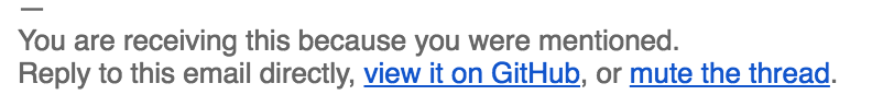 GitHub对提醒邮件做了改进