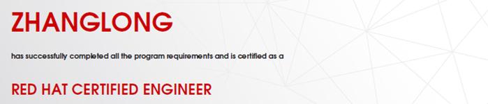 捷讯:张龙4月4日深圳顺利通过RHCE认证。