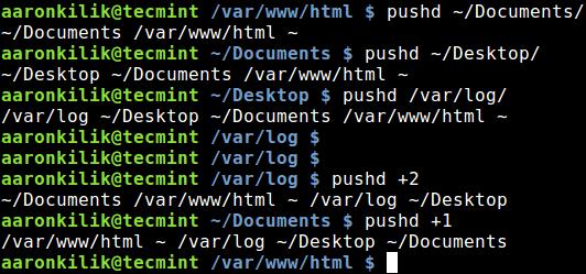高效的浏览 Linux 目录结构:pushd和popd命令高效的浏览 Linux 目录结构:pushd和popd命令