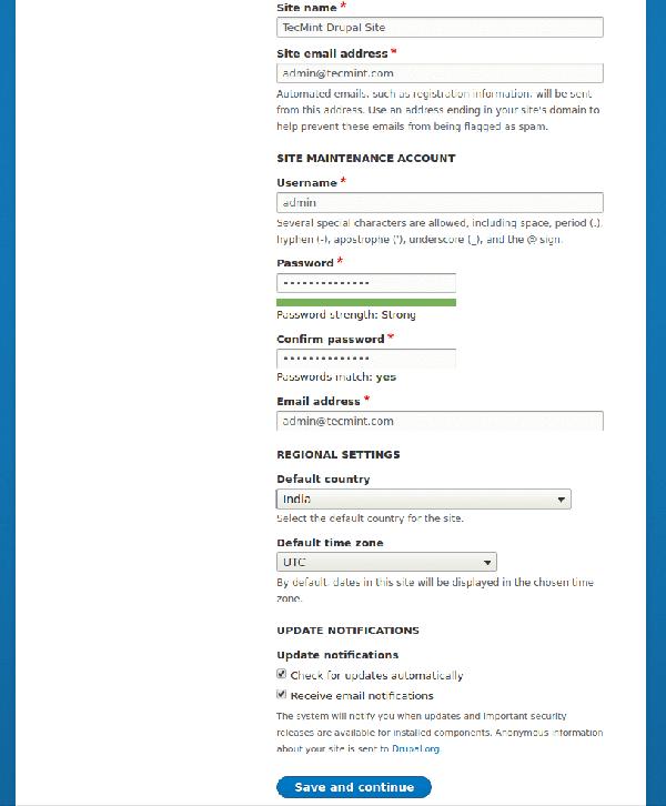 在rhel、centos上安装建站神器drupal 8 《linux就该这么学》