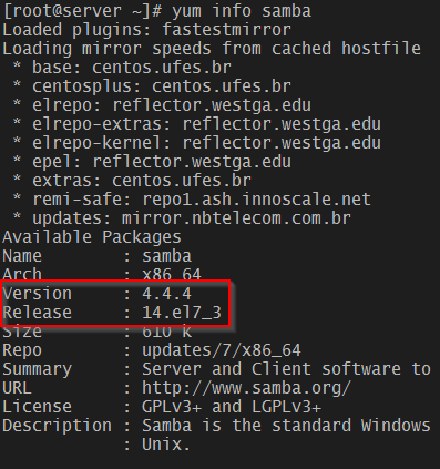 Linux 系统中修复 SambaCry 漏洞(CVE-2017-7494)