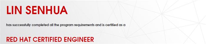 捷讯:林森华6月18日上海顺利通过RHCE认证。