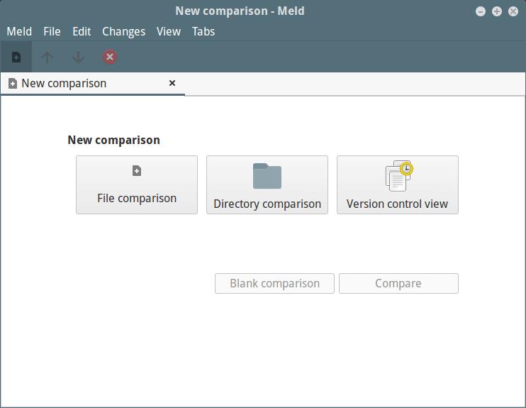 使用 Diff 和 Meld 工具比较两个目录的不同处使用 Diff 和 Meld 工具比较两个目录的不同处