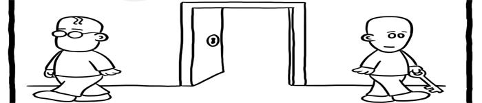 搞笑漫画:chown 与 chmod!