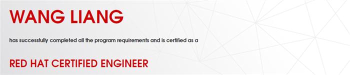 捷讯:王靓7月23日上海顺利通过RHCE认证。