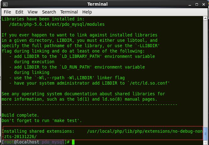 centos下安装PHP的PDO扩展!centos下安装PHP的PDO扩展!