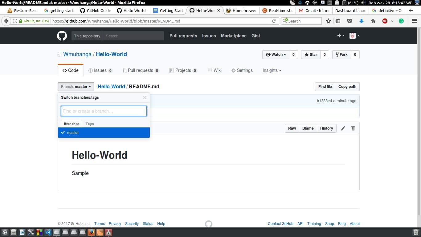 GitHub 快速入门GitHub 快速入门