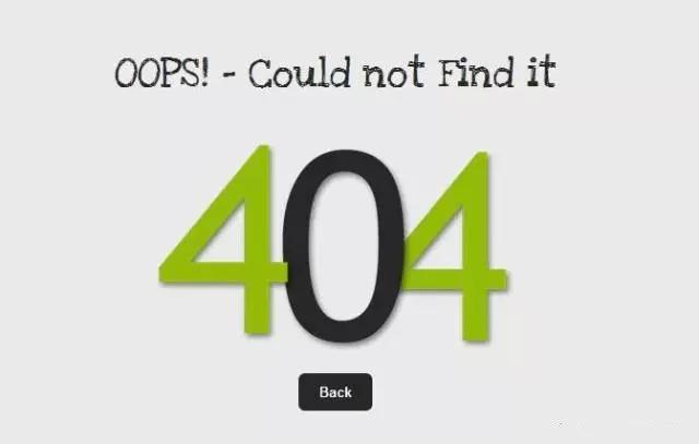 3招解决Nginx实现404页面的实现!