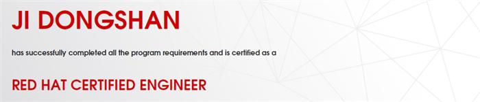 捷讯:吉东山9月2日北京顺利通过RHCE认证。