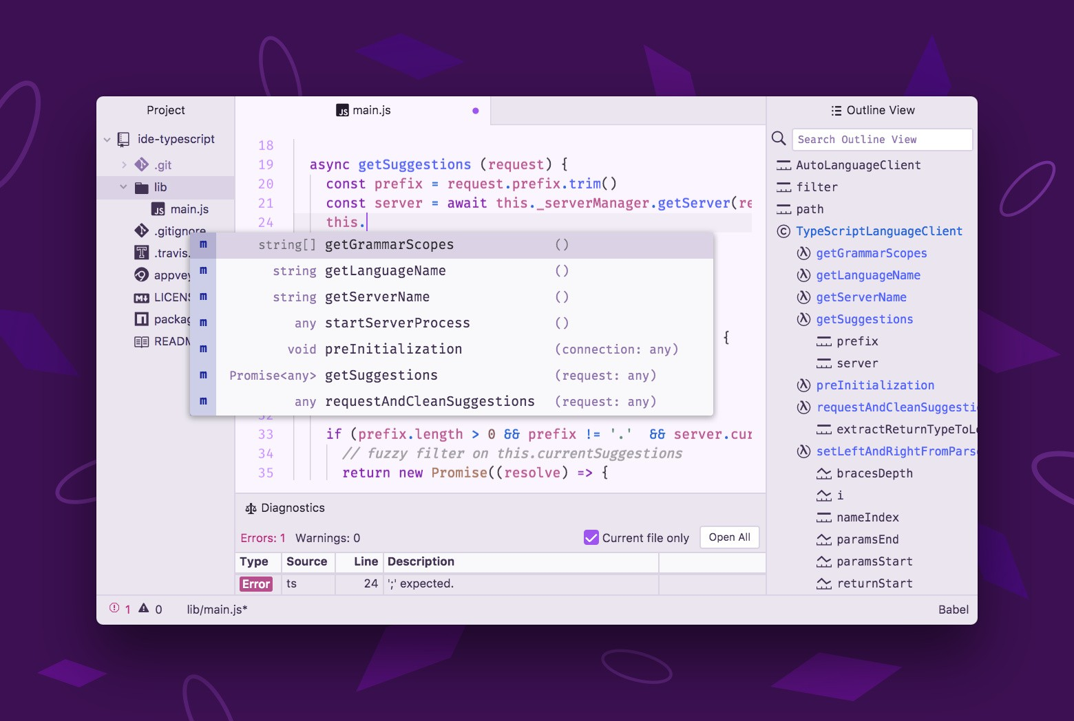 将 Atom 编辑器变成 IDE !