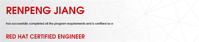 捷讯:姜仁鹏10月2日北京顺利通过RHCE认证。