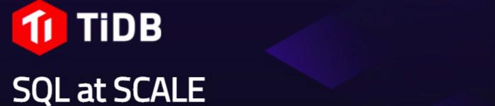 TiDB 1.0-PINGCAP新品!