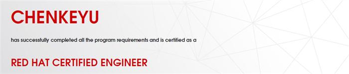 捷讯:陈柯宇11月26日上海顺利通过RHCE认证。