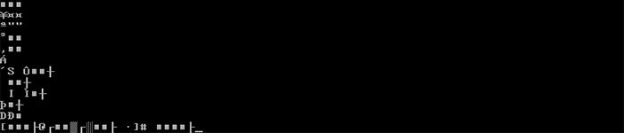修复 linux 控制台显示乱码
