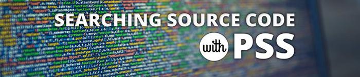 使用 pss 搜索你的代码