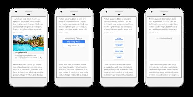谷歌提供可屏蔽烦人广告的新控制功能谷歌提供可屏蔽烦人广告的新控制功能