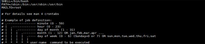linux计划定时自动删除目录下文件