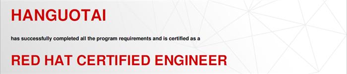 捷讯:韩国太5月23日北京顺利通过RHCE认证。
