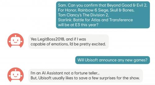育碧正式公布E3参展作品神秘作品将压轴亮相