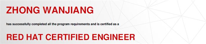 捷讯:仲万江5月20日北京顺利通过RHCE认证。