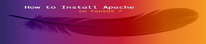 Apache Web 服务器在CentOS 7中的安装配置