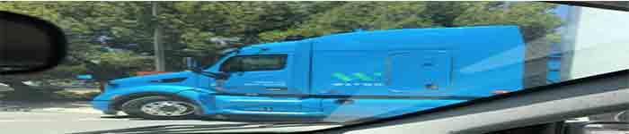 谷歌自动驾驶卡车首次曝光