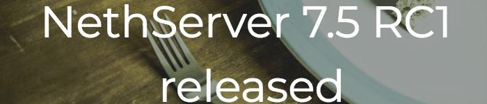 NethServer 发布 7.5 RC1 版