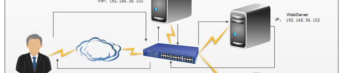 Keepalived LVS-DR单网络双活双主配置模式