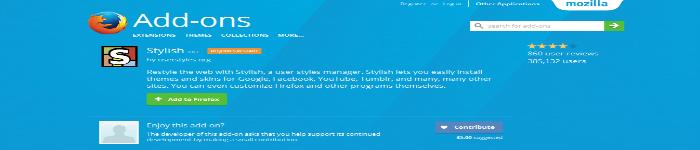 Stylish窃取用户数据被 Firefox 和 Chrome剔除