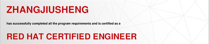 捷讯:张玖生8月24日北京顺利通过RHCE认证。