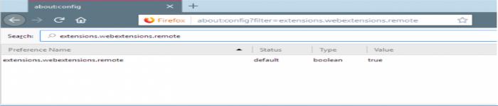Linux 端 Firefox 63 扩展程序将被激活