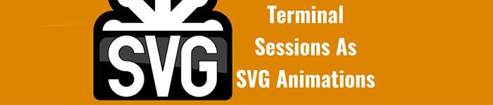 如何将Linux终端录制成SVG动画