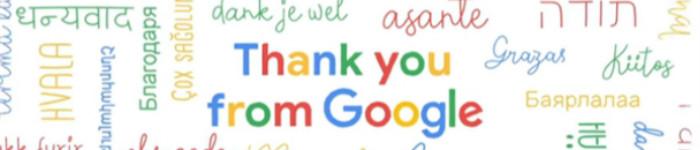 谷歌今天20岁了!生日快乐
