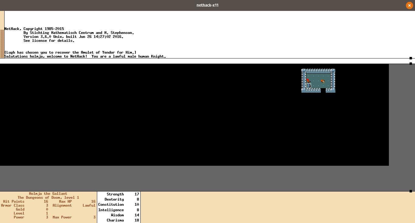 几个linux中有趣的游戏几个linux中有趣的游戏