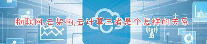 物联网,云架构,云计算三者是个怎样的关系